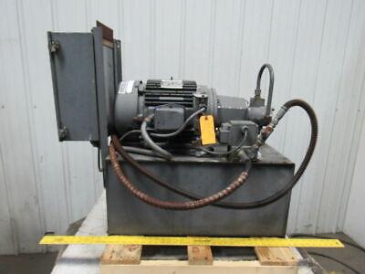 10hp 25 Gallon Hydraulic Power Unit 230460v 3 Ph