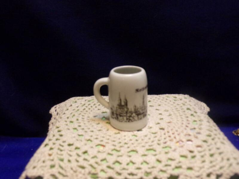 Vintage mini mug/ STEIN ROTHENBURG