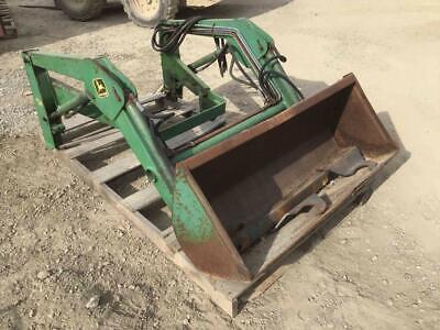 John Deere 51 Loader W 48 Gp Bucket Fits 655 Compact Tractors Stock 204875
