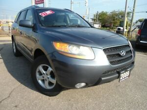 2009 Hyundai Santa Fe AUTO, ONE OWNER ,NO RUST,AUX,CD,MP3 PLAYER