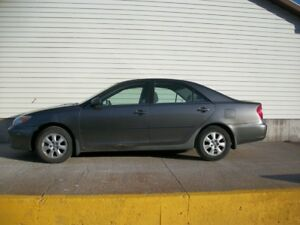 2003 Toyota Camry LE V6 WITH ALLOYS