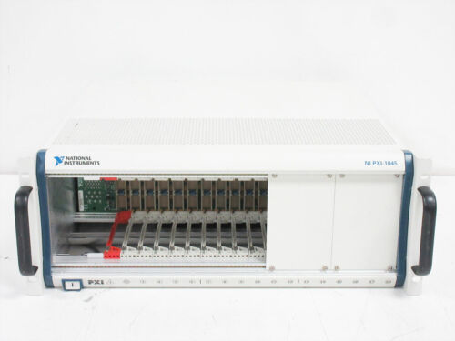 NATIONAL INSTRUMENTS NI PXI-1045 MAINFRAME 189106D-01 REV 2 - DOES NOT POWER ~ A