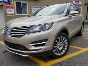 2015 Lincoln MKC AWD-NAV-PAN ROOF-PWR LIFTGATE-HEATED LEATHER