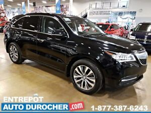 2015 Acura MDX 4X4 7 PASSAGERS - NAVIGATION - TOIT OUVRANT - CUI