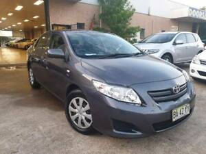 2009 Toyota Corolla Ascent 1 OWNER LOGBOOK LOW KLMS (3 YRS WARTY)