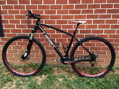 """2012 Specialized S Works Stumpjumper HT XTR Roval Control SL Carbon Large 19"""""""