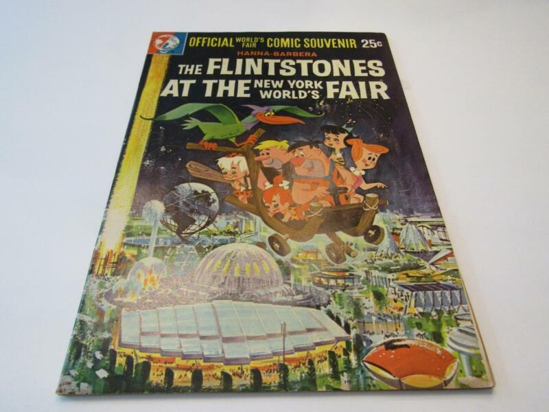 1964-65 Worlds Fair THE FLINTSTONES AT THE NEW YORKS WORLD