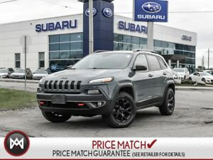 2015 Jeep Cherokee Trailhawk LEATHER NAVI BACKUP CAM