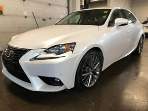 2016 Lexus IS 300 NAVI, LEATHER, HEATED VENT SEATS, BACK UP CAME