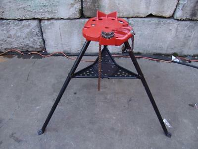 Ridgid 460 Chain Tripod Pipe Vise 18 To 6 Threader 300 700 Nice Shape 6