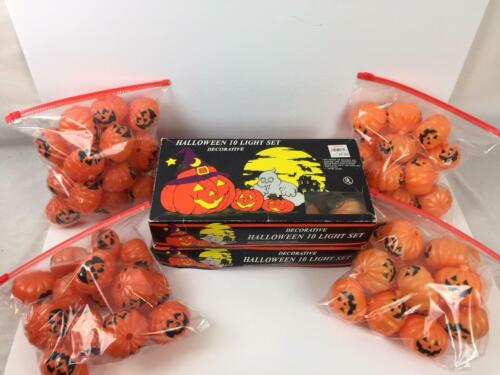 85 Vintage Pumpkin Blow Mold String Light Covers