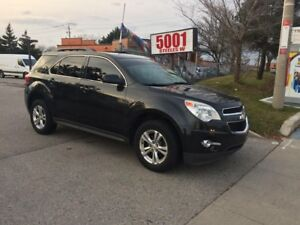 2011 Chevrolet Equinox AWD LEATHER DVD CAM SAFETY+3YEARS WARRANT