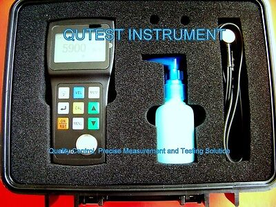 Digital Ultrasonic Thickness Gauge Meter Thru Coating Painting 500 Reading Log for sale  Shipping to Nigeria