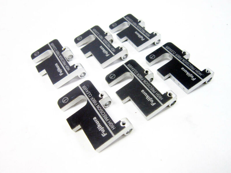 6X FUJIKURA HIGH PRECISION FIBER CLEAVER COVER CLAMP