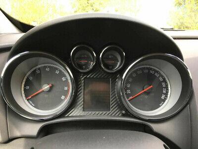 Opel Astra J Tacho Carbon Folie Aufkleber