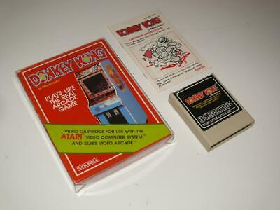 Atari 2600 ~ Donkey Kong ~ Coleco ~ Boxed / Complete ~ NTSC