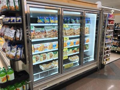 Kysor Warren Glass Door Merchandisers For Beer Dairy Ice Cream Or Frozen Food