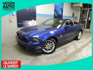 2013 Ford Mustang V6 PREMIUM CUIR CONVERTIBLE WOW LOW MILEAGE