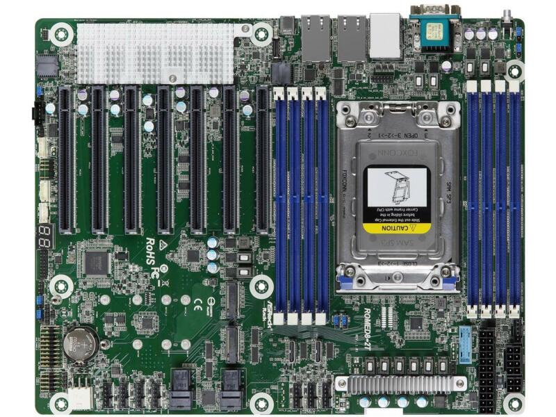 AsRock Rack ROMED8-2T ATX Server Motherboard SP3 (LGA4094) AMD EPY 7002/7001 (RO
