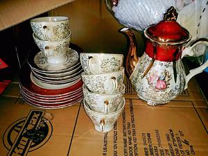 Tea Set Japan . 6 Piece and Saucer . Ellis Lane Camden Area Preview