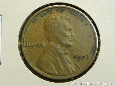 1928 P,D,S  LINCOLN WHEAT PENNY SET OF 3 ALL XF MANY PICS. GREAT UPGRADES!!!