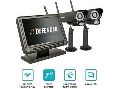 Defender - Phoenixm2 4-channel, 2-camera Indoor/outdoor Wire