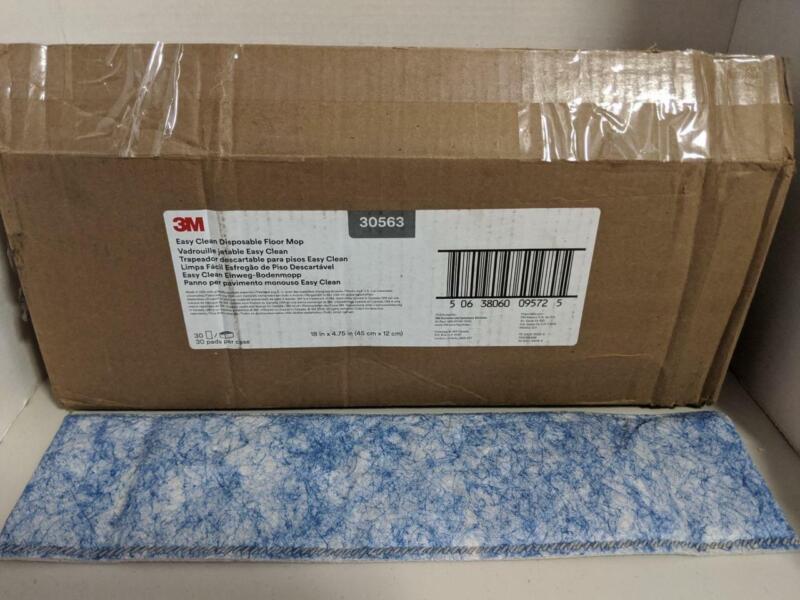"30 3M Easy Clean Disposable Floor Mop 18"" x 4.75"" #30563 -1020SH"