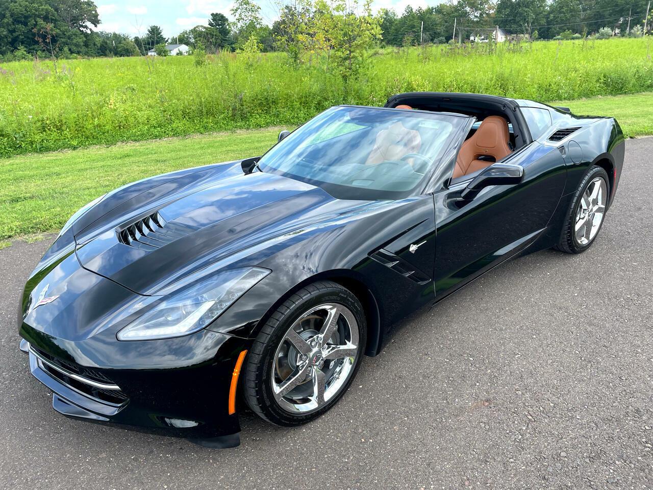 2014 Black Chevrolet Corvette Coupe 3LT | C7 Corvette Photo 2