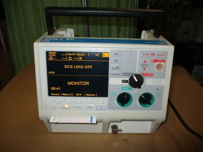 Zoll M Series Biphasic Monitor Nibp 3 Lead Ecg Spo2 Pacing Analyze Battery Aed