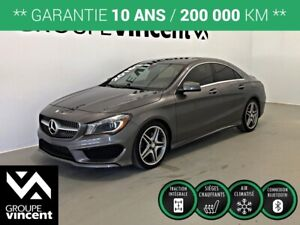 2016 Mercedes Benz CLA 250 4MATIC AMG PACKAGE ** GARANTIE 10 ANS