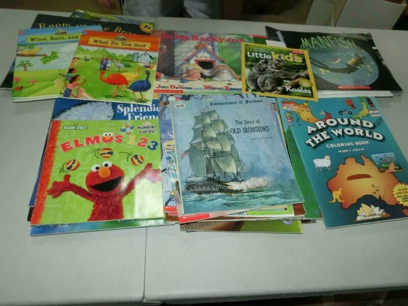 Huge Lot 63 K 1st  2nd 3rd  Grade AR Picture Books TEACHER LIBRARY