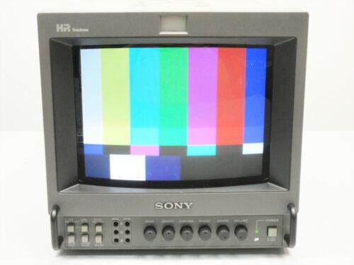 "SONY PVM-8044Q HR TRINITRON COLOR PRODUCTION MONITOR 8"" ~ UNIT A I"