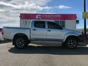 2007 Toyota Hilux KUN26R MY07 SR Silver 5 Speed Manual Utility Garbutt Townsville City Preview