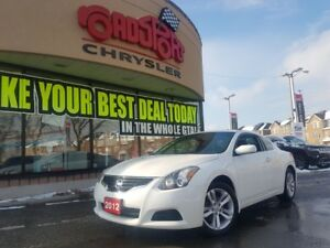 2012 Nissan Altima 2.5 S P-ROOF L-THR R-AM ONLY 38000 KMS