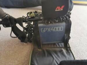 Metal Detector. Minelab  GPX-4000