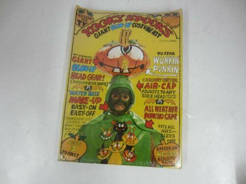 Vintage 1980 Kooky Spooks WUNKIN PUNKIN Giant Blow-Up Costume New As Seen on TV