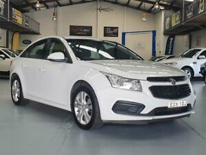 2015 Holden Cruze JH MY15 Equipe Heron White 6 Speed Automatic Sedan Seven Hills Blacktown Area Preview