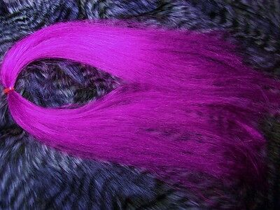 - Synthetic hair ,Fly Tying, Salt Water, Buck Tail, Jigs,  { color MAGENTA }