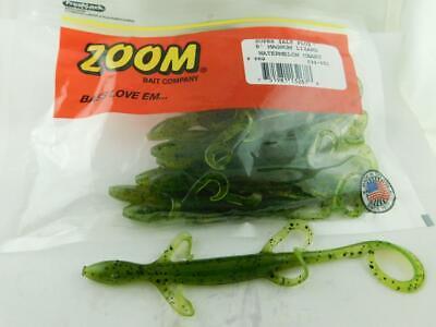 Pick Zoom Magnum Lizard Carolina Rig Bait 8in 9pk