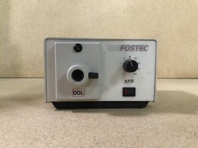 Schott Fostec 8375 Light Source Free Delivery
