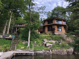 Waterfront home/cottage, year round access, on Charleston Lake.