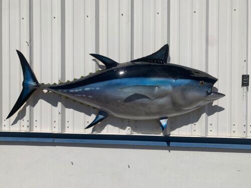 "75"" Bluefin Tuna Half Fish Mount Replica - 10 DAY PRODUCTION TIME"