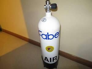 Faber 12.2L steel scuba tank Moss Vale Bowral Area Preview