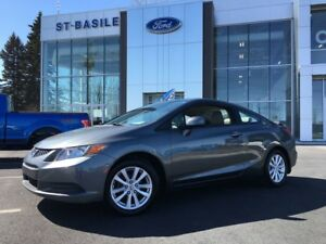 2012 Honda Civic Cpe EX, Toit Ouvrant 53$ / weekly / 60 months