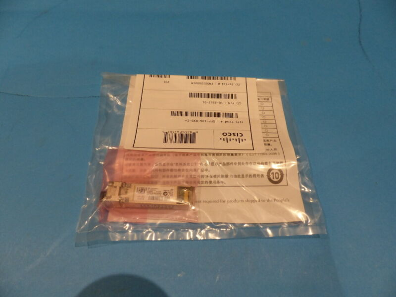 CISCO AUTHENTIC GENUINE SFP-10G-BXD-I TRANSCEIVER MODULE