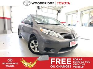 2017 Toyota Sienna LE|8-PASS|P-DOORS|R-CAM|B-TOOTH|VERY-CLEAN!