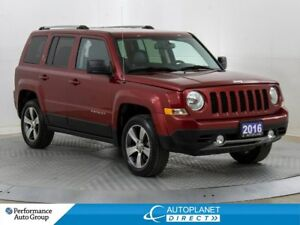 2016 Jeep Patriot Sport AWD, Sunroof, Leather, Alloys!