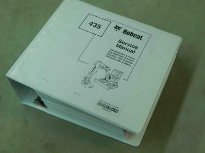 Bobcat 435 Pn 6902331 Escavator Service Manual 6219