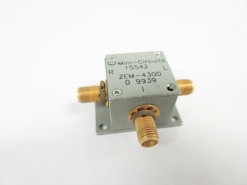 MINI-CIRCUITS ZEM-4300 FREQUENCY MIXER LEVEL 7 (LO POWER +7 DBM) 300 TO 4300 MHZ