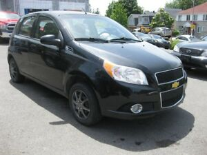 2011 Chevrolet Aveo LT FWD 4cyl Manual Hatchback Low KM Great on